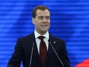 Russie et Vietnam développent leurs liens traditionnels (PM Dmitri Medvedev)