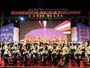 Ouverture du 4e Festival national de chant then et du dan tinh