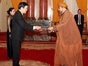 Le chef de l'Etat reçoit de nouveaux ambassadeurs