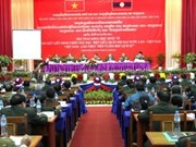 Vietnam-Laos: la solidarité dans le combat des armées se perpétuent