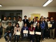Bourses Vallet 2012 pour des étudiants vietnamiens en France