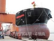 Livraison d'un cargo construit par le chantier naval de Ha Long