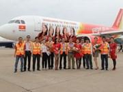 VietJetAir : Inauguration du premier vol Hô Chi Minh-Ville - Vinh