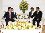 Vietnam - Cambodge : rencontre au sommet