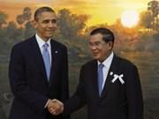 Le Cambodge et les Etats-Unis vont renforcer leurs relations