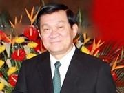 Truong Tan Sang part pour le Brunei et le Myanmar