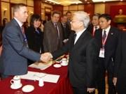 Vietnamologie : Nguyên Phu Trong reçoit les délégués