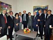 Une rencontre d'hommes politiques ASEAN-Italie