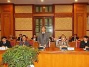 Le Conseil de théorie du CC du PCV en 6e session