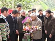 À Yên Bai, Nguyên Phu Trong montre la voie