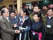 Le président de l'AN en tournée à Lang Son