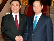 Les dirigeants vietnamiens reçoivent le président de l'AN sud-coréenne