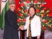 Relations Vietnam-Inde, satisfaction de part et d'autre
