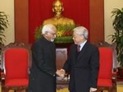 Vietnam et Inde promeuvent leur partenariat stratégique