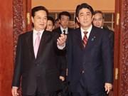 Entretien entre Premiers ministres vietnamien et japonais