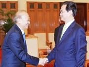 Le Premier ministre reçoit le ministre cambodgien de la Justice