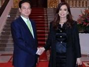 Les dirigeants vietnamiens plaident pour les liens VN-Argentine