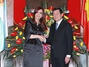 Le Vietnam souhaite resserrer son partenariat intégral stratégique avec l'Argentine