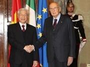Vietnam et Italie approfondissent leurs relations de coopération