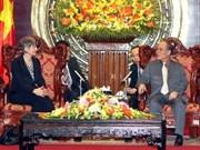 Renforcement des relations avec l'Allemagne et le Pakistan