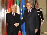 Le chef du PCV quitte Rome pour le Royaume-Uni