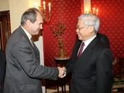 Le secrétaire général du PCV rencontre le dirigeant du PRC en Italie