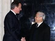 Le chef du PCV achève sa visite au Royaume-Uni