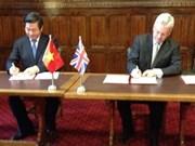 PPP : Vietnam, Royaume-Uni scellent leur coopération