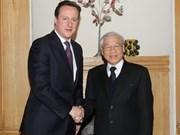 Le Vietnam prise ses liens avec le Royaume-Uni