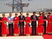 Inauguration du port international de Cai Mép - Thi Vai