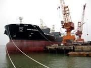 Livraison d'un cargo construit par les chantiers navals de Ha Long