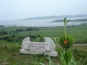 La lagune d'Ô Loan, entre terre et mer