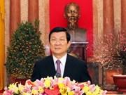 Les voeux du Têt du président du Vietnam