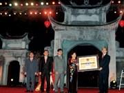 Cô Loa reçoit son certificat de vestige national spécial