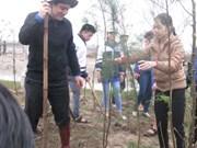 L'Union de la jeunesse lance la fête de plantation d'arbres