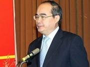 Réunion du Conseil national pour le développement durable