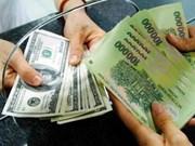Le taux de change sous pression