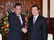 Des dirigeants vietnamiens reçoivent le ministre de l'Energie de Brunei