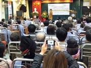 Echo à la Semaine mondiale du glaucome 2013