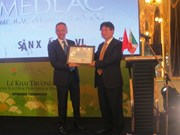 Medlac Pharma Italy inaugure une usine à Hanoi