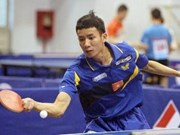 "Ping-pong : 5e tournoi international ""Coupe Hoang Thach"""