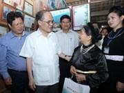 Le président de l'AN en tournée à Tuyen Quang