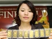 Première vente d'or par enchère publique