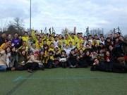 Football: à Birmingham, SVUK Cup respire la solidarité