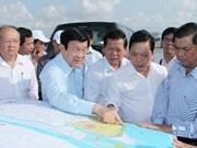 Le président exhorte Tiên Giang à s'adapter au réchauffement