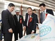 Inauguration de la sucrerie de Tuyen Quang