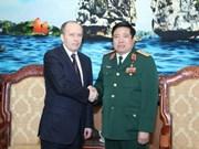 Le ministre de la Défense reçoit le chef du FSB
