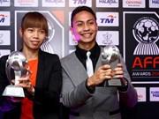 Kiêu Trinh, meilleure footballeuse d'Asie du Sud-Est 2012