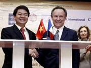 Inauguration du ''forum d'entreprises Vietnam-France'' à HCM-Ville
