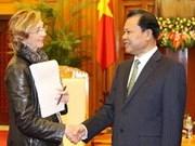 Vietnam et France s'orientent vers un partenariat stratégique